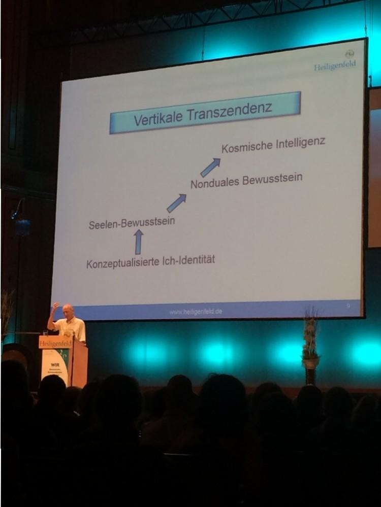 Dr. Galuska im Vortrag