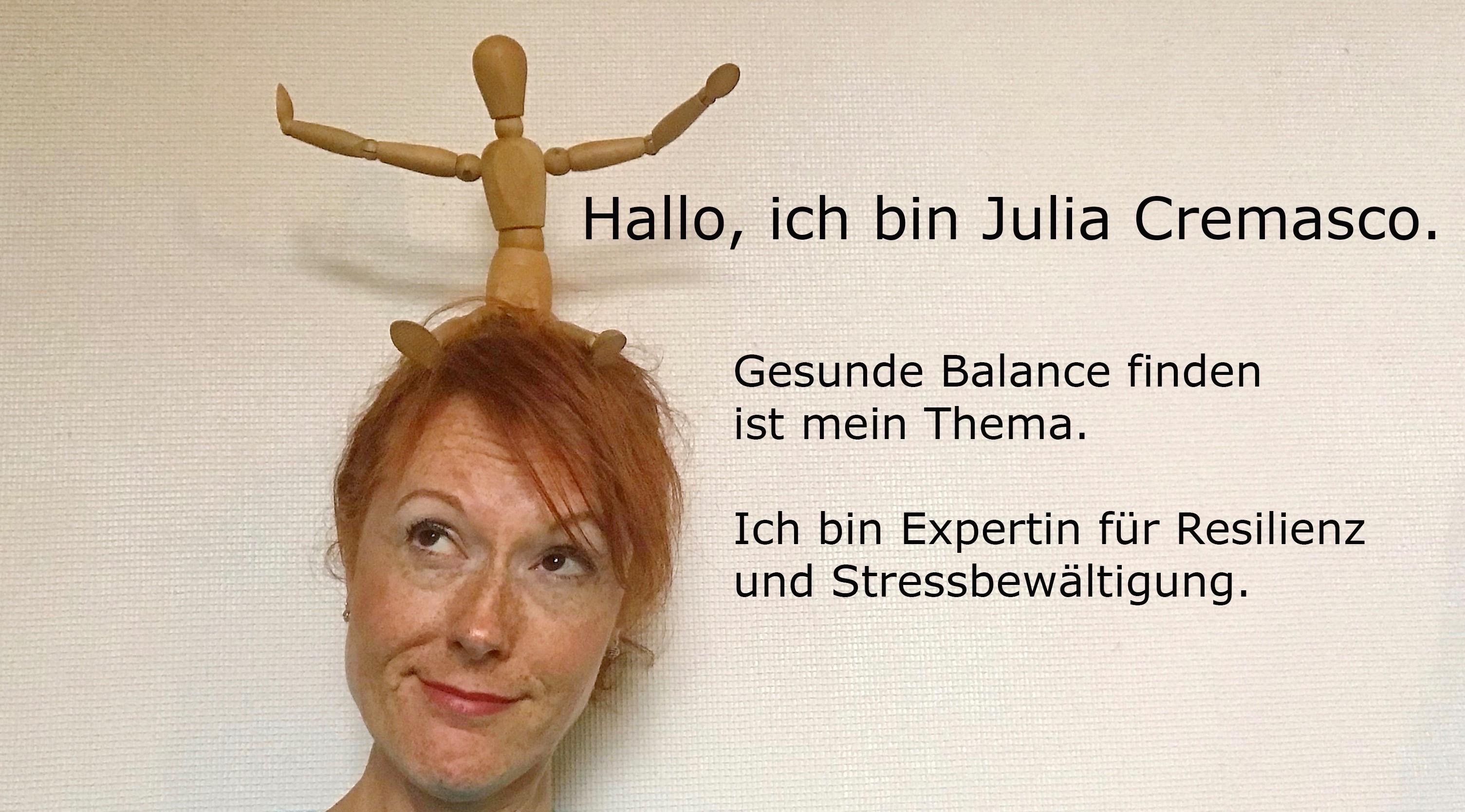 Über mich: Julia Cremasco, mein Weg.