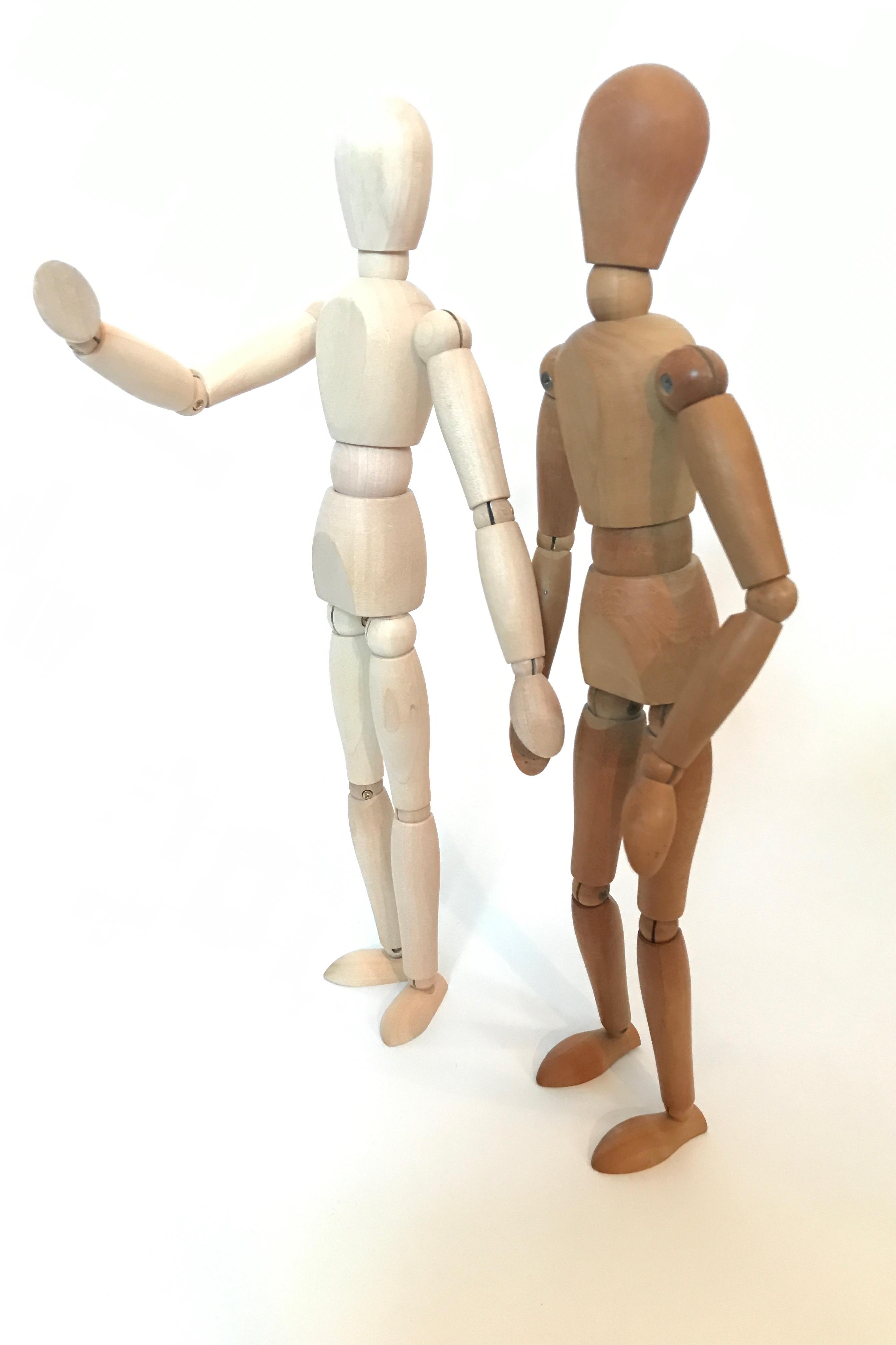 Gesunde Balance: Ich bin dein Sparringspartner bei gut abgegrenzten Themen.