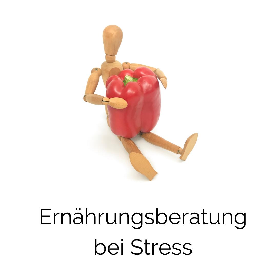 Sich gesund ernähren, um den Stress zu bewältigen
