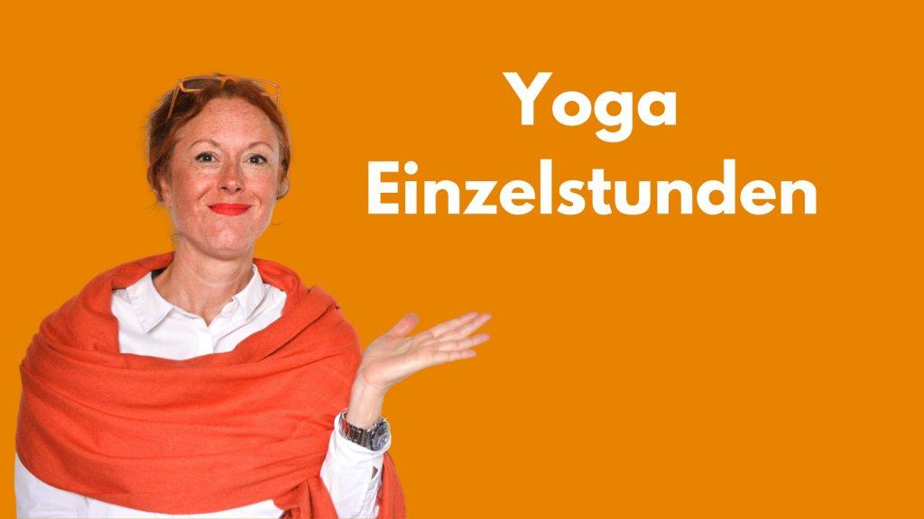 Mein Angebot der Extraklasse: Yoga-Einzelstunden