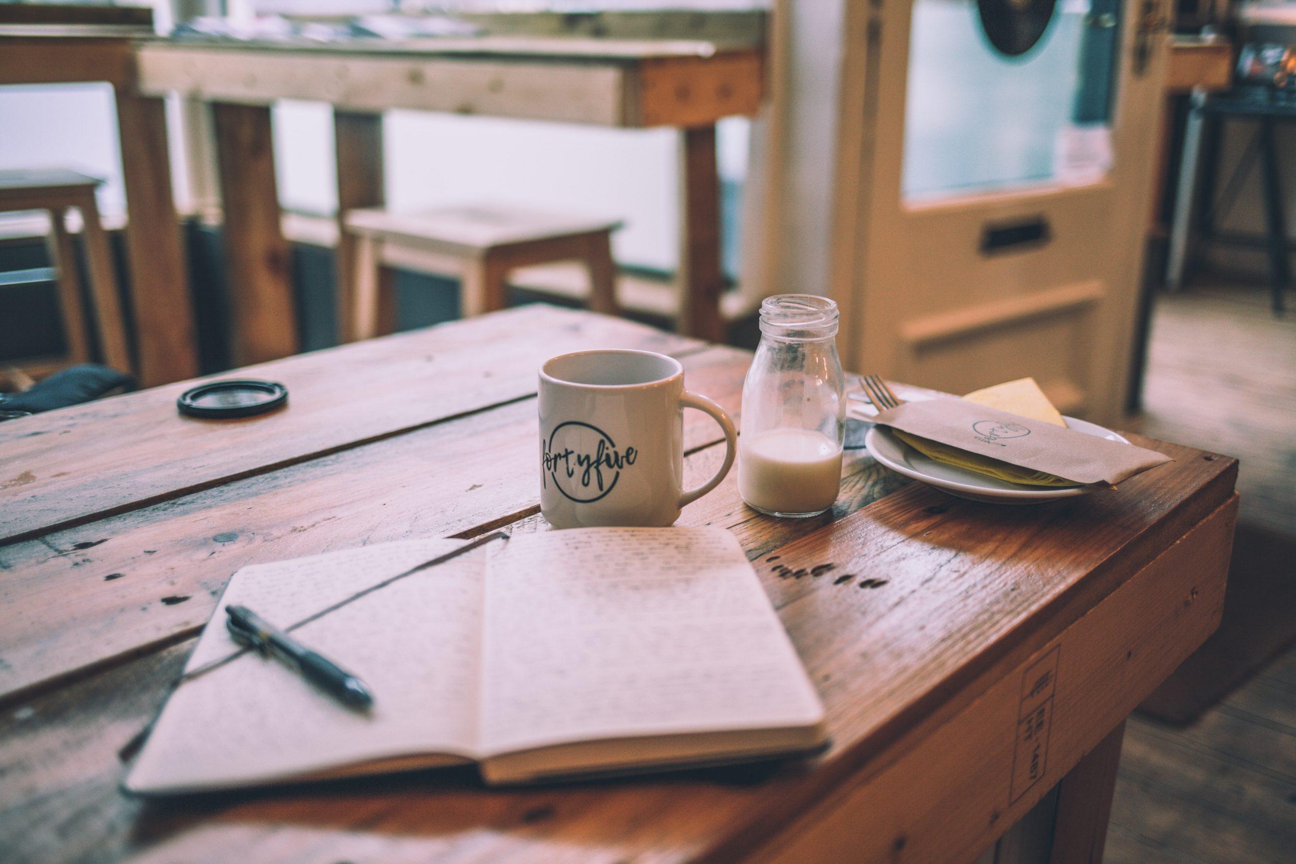 Nimm dir täglich 5 Minuten zeit für dein Bullet Journal!