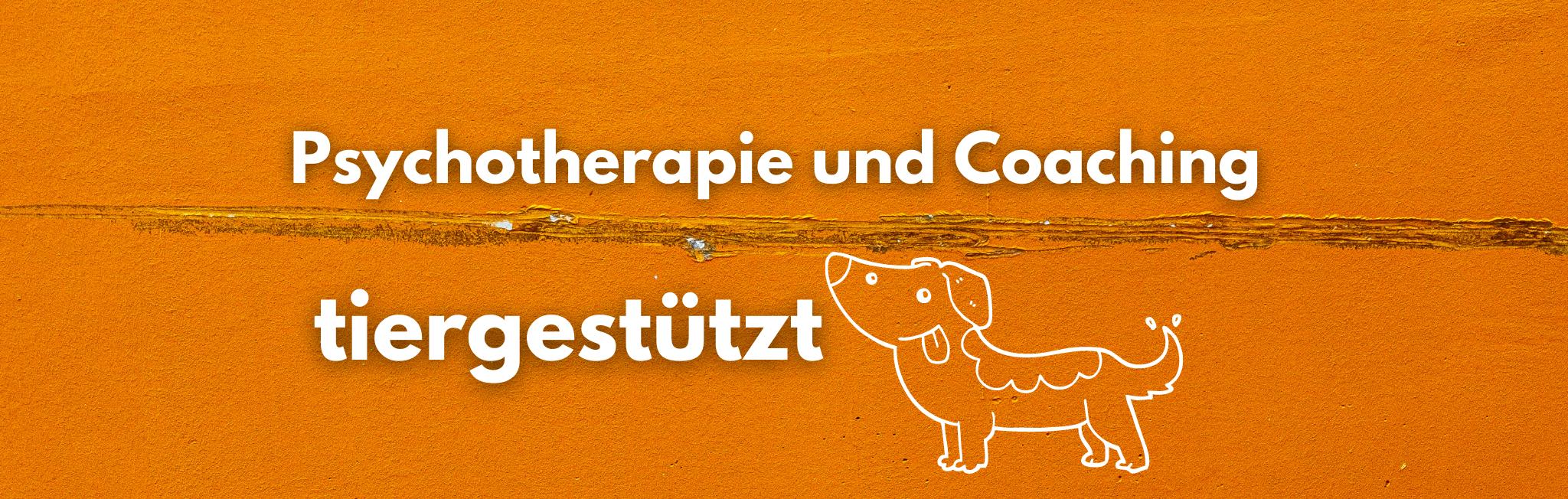 Psychotherapie & Coaching tiergestützt? Erfahre hier mehr!