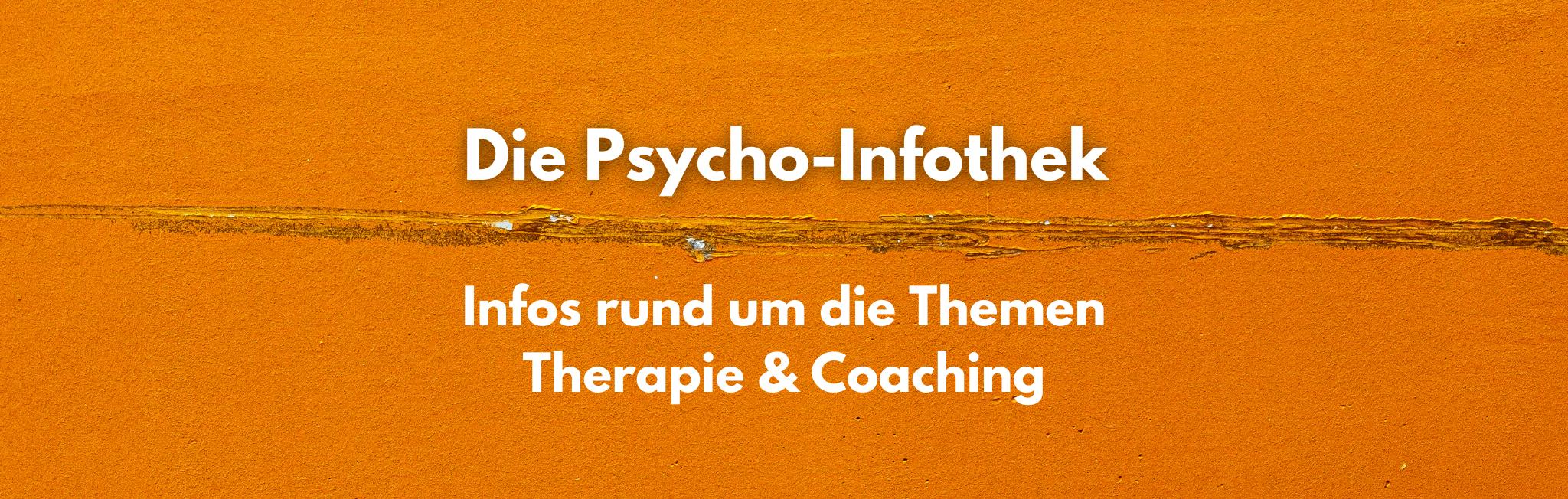 Definition Psychotherapie